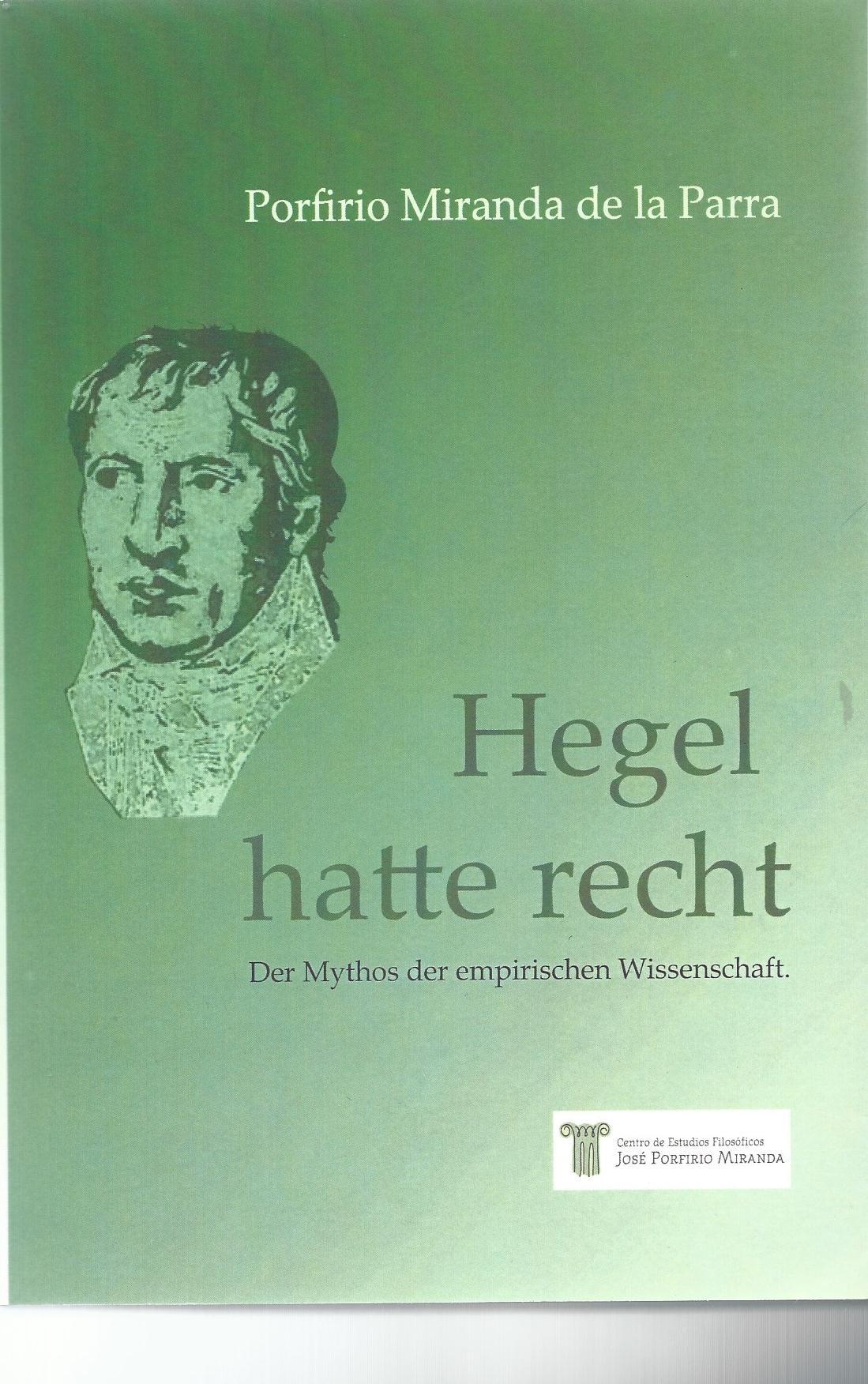 Hegel Hatte Recht 2011