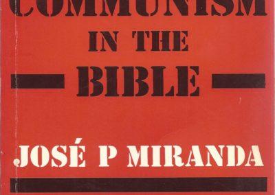 Communism in the Bible Primera Edici¢n SCM Press 1982