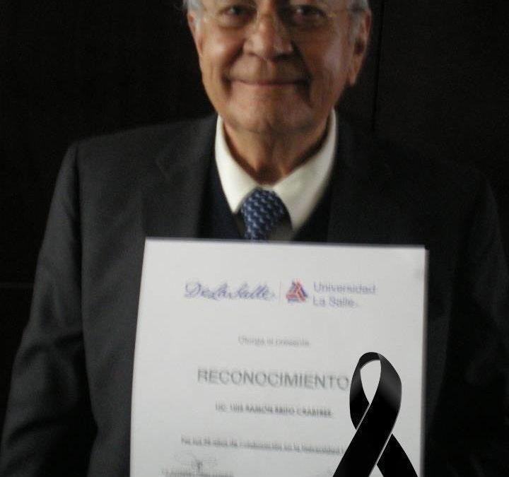 Fallece el Filósofo Luis Brito Crabtree