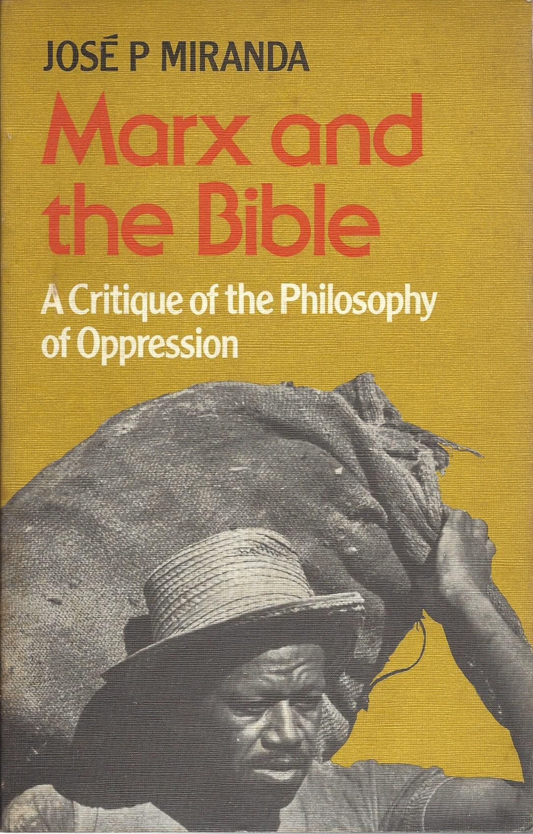 Marx and the Bible 1977 published by SCM