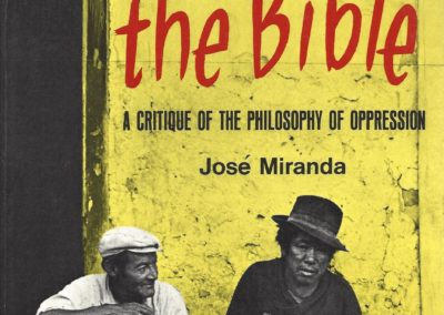 Marx and the bible Orbis Book