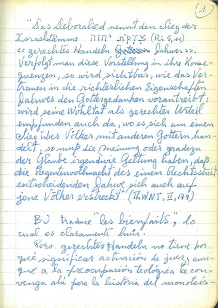 Muestra de Manuscritos Fascímiles de los Cuadernos Delta